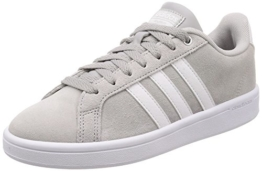 adidas Damen Cloudfoam Advantage Fitnessschuhe, Grau (Grey Two F17/Ftwr White/Matte Silver Grey Two F17/Ftwr White/Matte Silver), 40 EU - 1