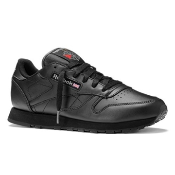 REEBOK Wmns Classic Leather - black,Schwarz,42 - 1