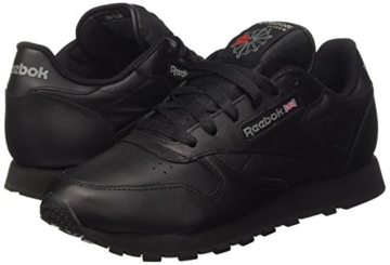 REEBOK Wmns Classic Leather - black,Schwarz,42 - 6