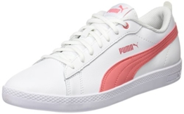 Puma Damen Smash WNS v2 L Sneaker, Weiß White-Shell Pink 05, 42.5 EU (8.5 UK) - 1