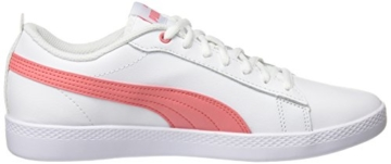 Puma Damen Smash WNS v2 L Sneaker, Weiß White-Shell Pink 05, 42.5 EU (8.5 UK) - 6