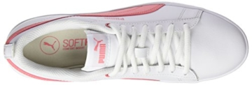 Puma Damen Smash WNS v2 L Sneaker, Weiß White-Shell Pink 05, 42.5 EU (8.5 UK) - 7